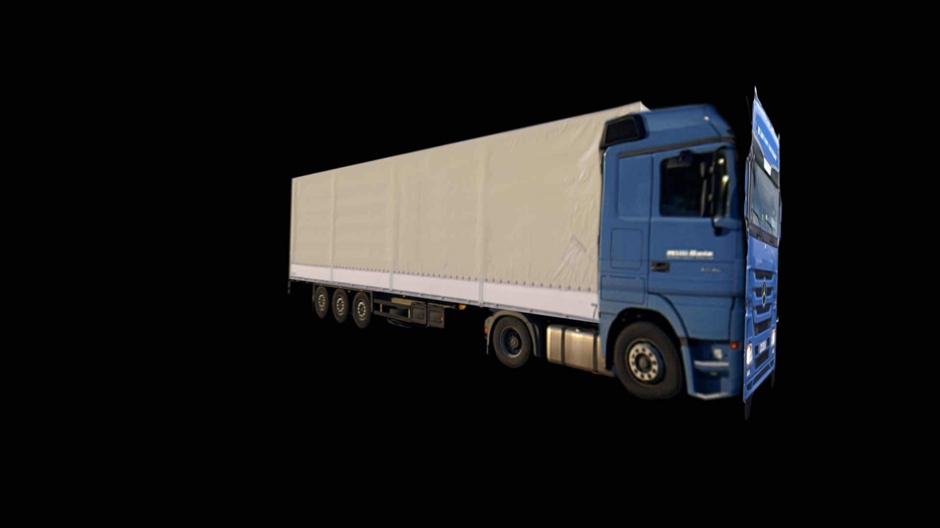 Compositing Layer Motortruck 3D-Extension
