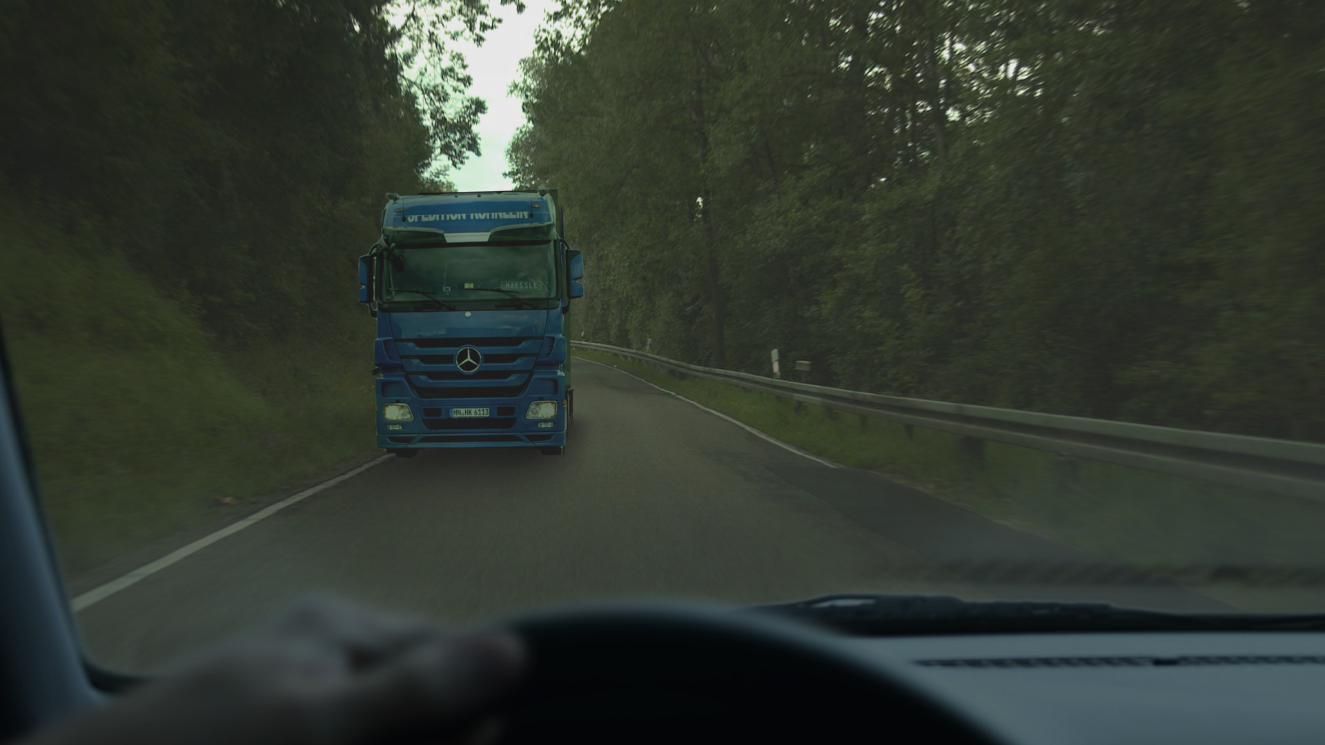 Compositing of the windscreen